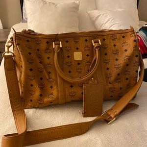 MCM Duffle Bag barely used. Almost new.